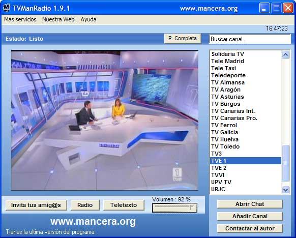 TVManRadio 1.9.1