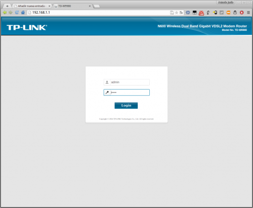 TP LINK W9980